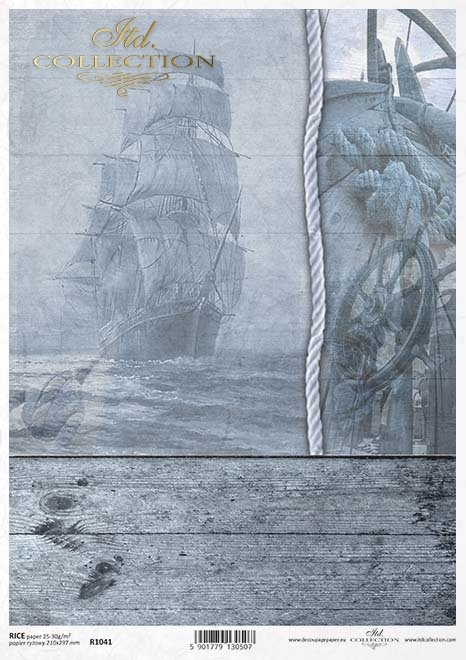 statek, okręt, żaglowiec, żagle, mgła, morze, ocean, żeglarstwo, lina, okrętowa, koło sterowe, deska, deski, pokład