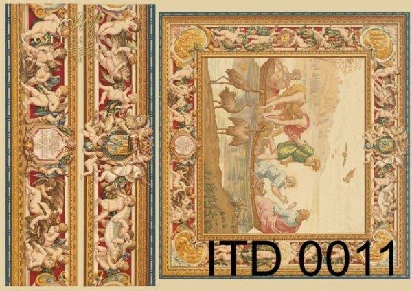 Papier decoupage ITD D0011