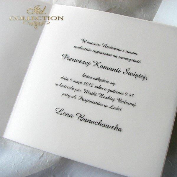 Zaproszenie komunijne 1731_006 ze zdęciem