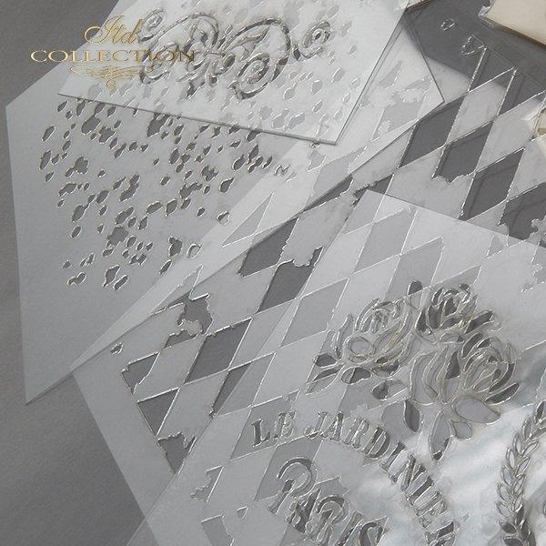 szablon - maska do scrapbookingu 16x16 cm ST0136A