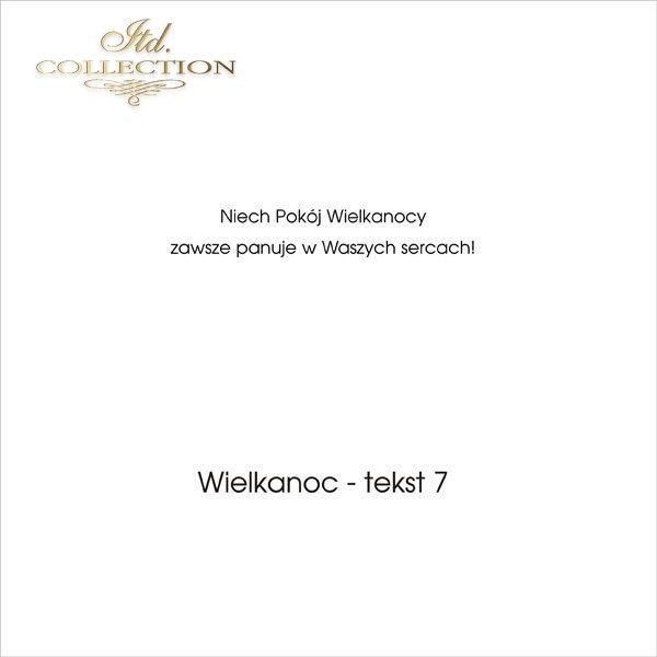 .tekst wielkanocny - 07