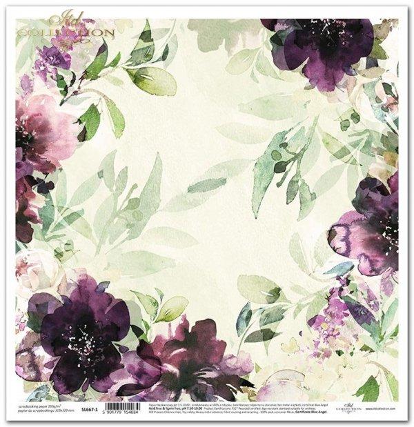 Seria Ogród marzeń - letnie kwiaty