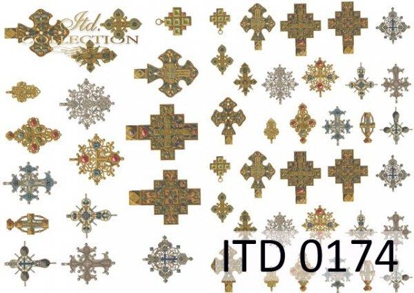 Papier decoupage ITD D0174