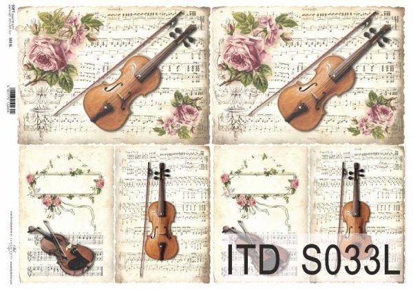 Papier decoupage SOFT ITD S0033L