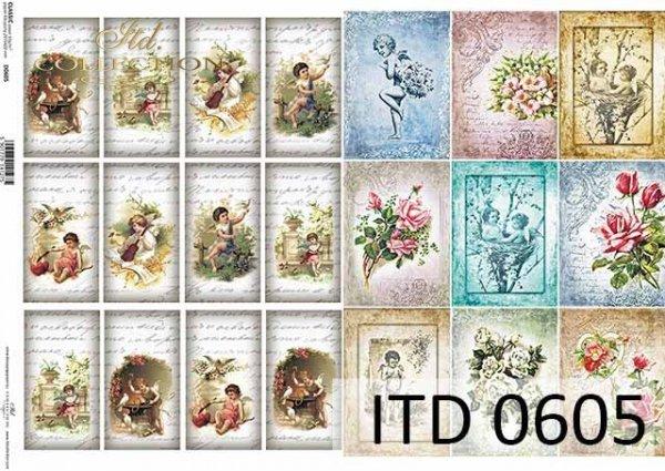 Papier decoupage ITD D0605