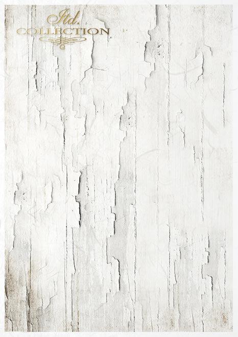 Zestaw kreatywny na papierze ryżowym - styl Vintage*Creative set on rice paper - Vintage style