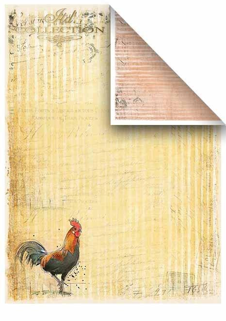 Papeles de scrapbooking en sets - alrededor de la granja * Скрапбукинг документы в наборах - вокруг фермы