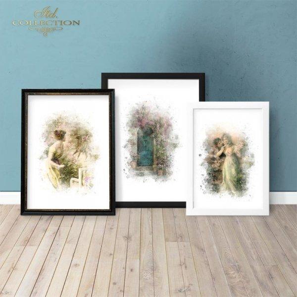 example-03-Papier-decoupage-retro-Zakochana-Para-Akwarela*Paper Decoupage-retro-Love-Watercolor