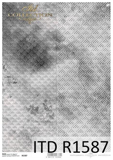 Do-decoupage-Papier-ryzowy-decoupage-R1587-szarostalowe-betonowe-tlo-z-geometrycznym-wzorem-1