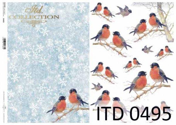 Papier decoupage ITD D0495