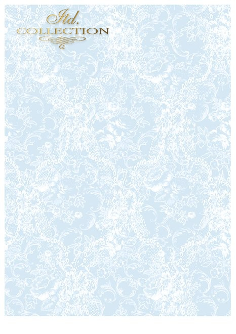 SCRAP-041 ''blue dreams'' scrapbooking papers set * zestaw papierów do scrapbooking 11