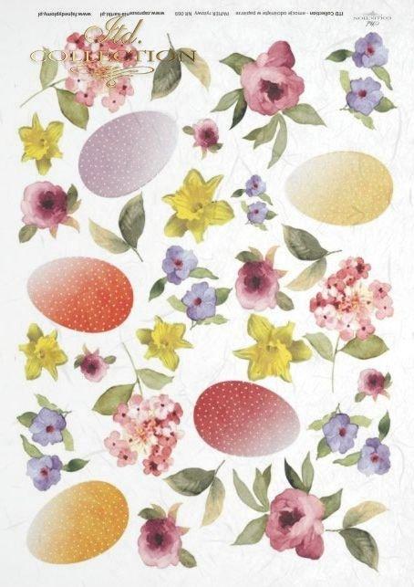Easter, eggs, egg, flower, flowers, spring, meadow, garden, R069