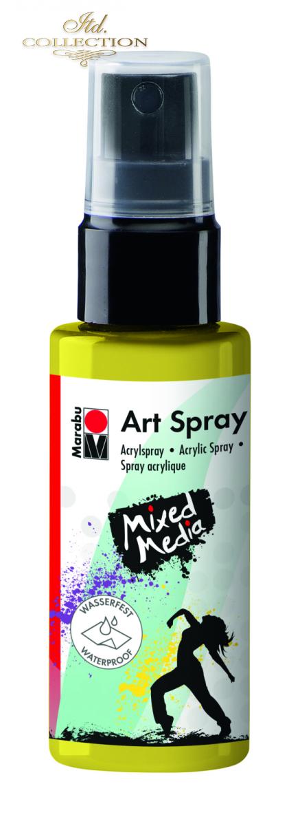 Acrylic spray Marabu Art 50 ml - Lemon 020