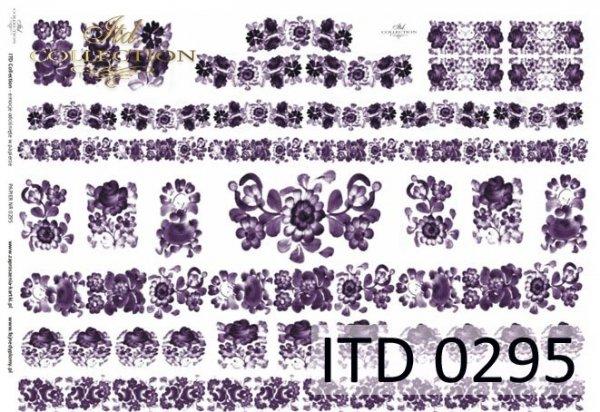 Papier decoupage ITD D0295M