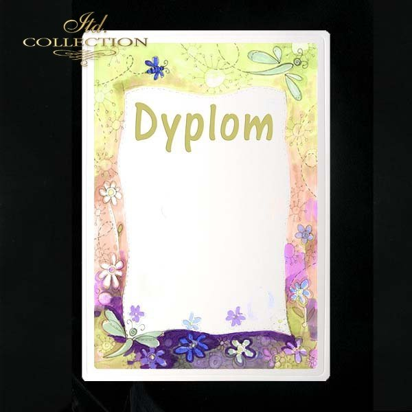 dyplom DS0005