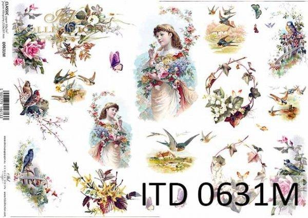 Papier decoupage ITD D0631M