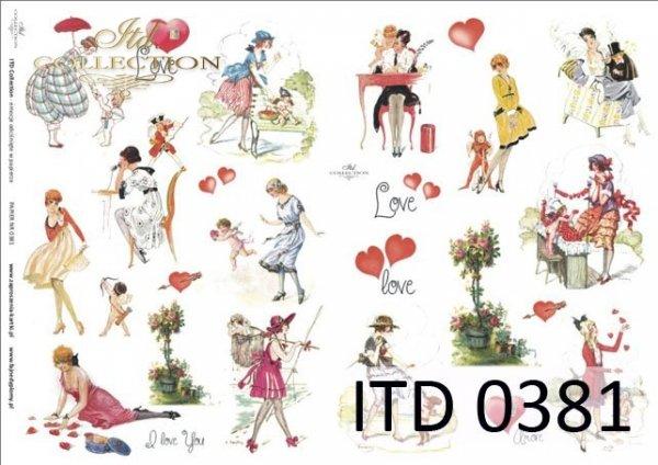 Papier decoupage ITD D0381M
