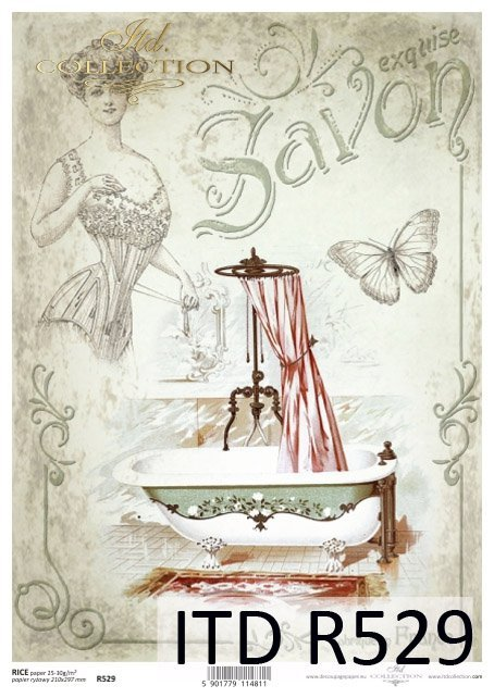 rice-paper-decoupage-mixed-media-art-journal-papier-ryżowy