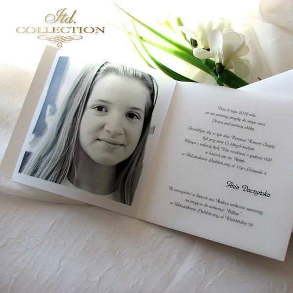 bae3980136 Zaproszenie 1731-006 - Zaproszenia komunijne ze zdjęciem