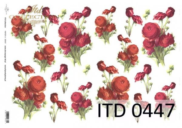 Papier decoupage ITD D0447