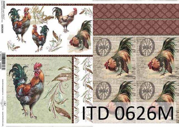 Papier decoupage ITD D0626M