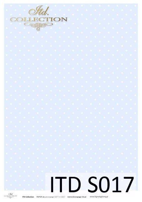 Papier decoupage SOFT ITD S0017