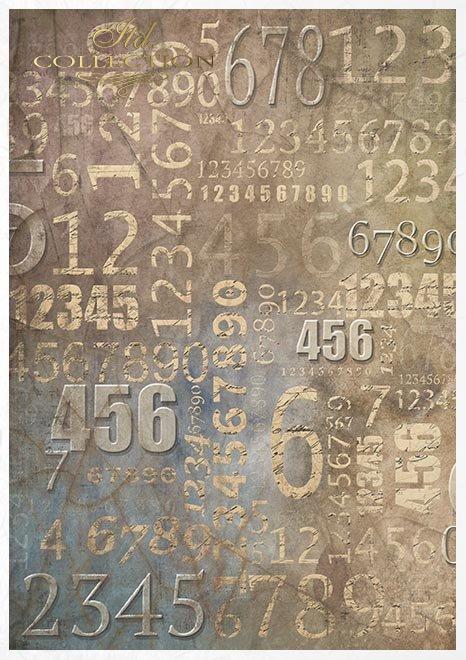 Conjunto creativo sobre papel de arroz - Steampunk*Kreativset auf Reispapier - Steampunk*Креативный набор на рисовой бумаге - Стимпанк