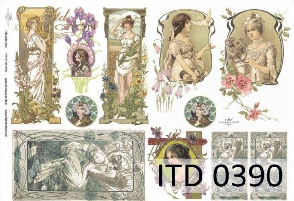 Papier decoupage ITD D0390M