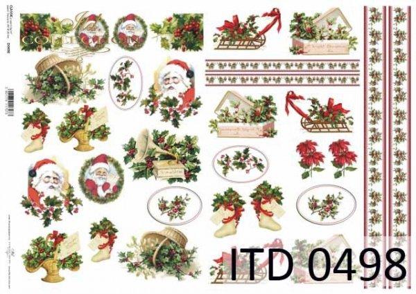 Papier decoupage ITD D0498