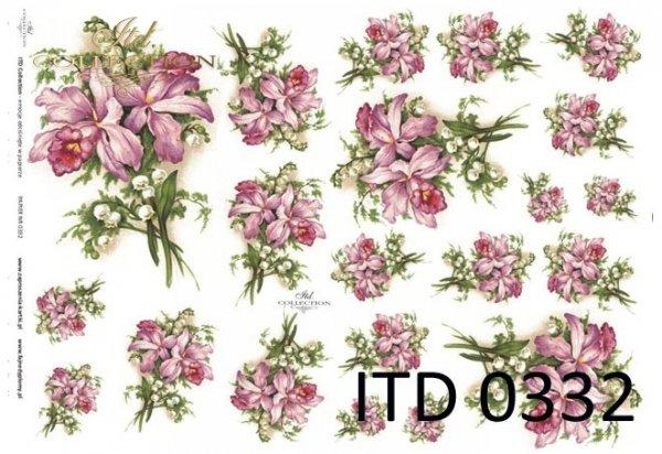 Papier decoupage ITD D0332M