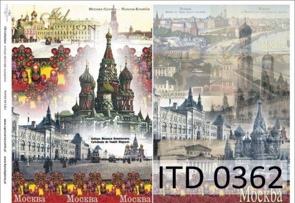 Papier decoupage ITD D0362