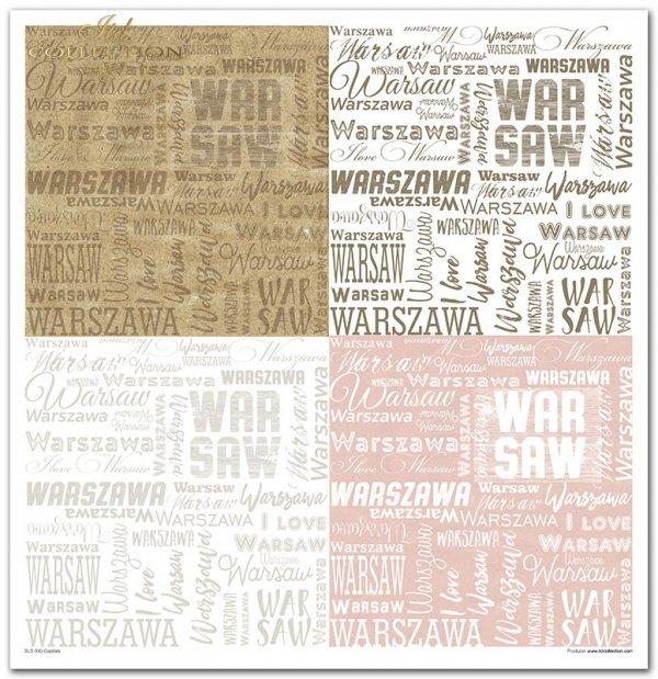 Seria Capitals, stolice, london, madrid, paris, praha, warsaw, warszawa, praga, madryt, londyn, paryż, kolaże, collage,napisy