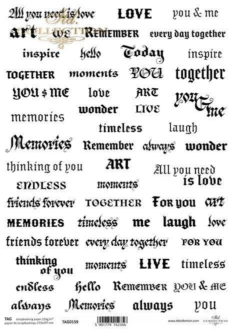 napisy, słowa, inskrypcje, podpisy, życzenia, tagi
