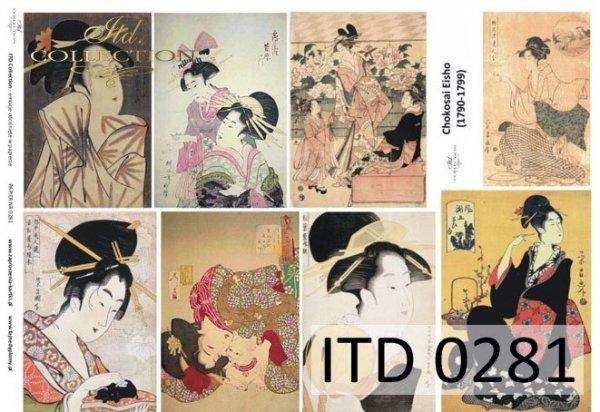 Papier decoupage ITD D0281