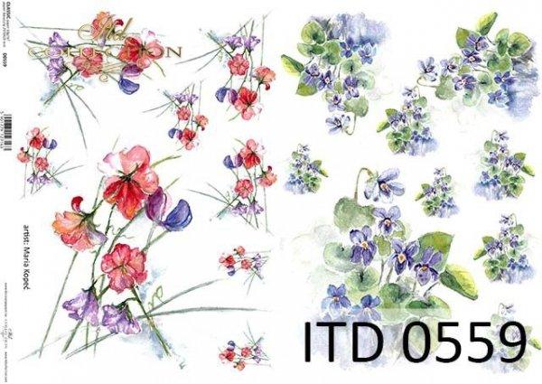 Papier decoupage ITD D0559