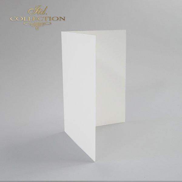 Baza do kartki BDK-001 154x106 mm * Biel naturalna