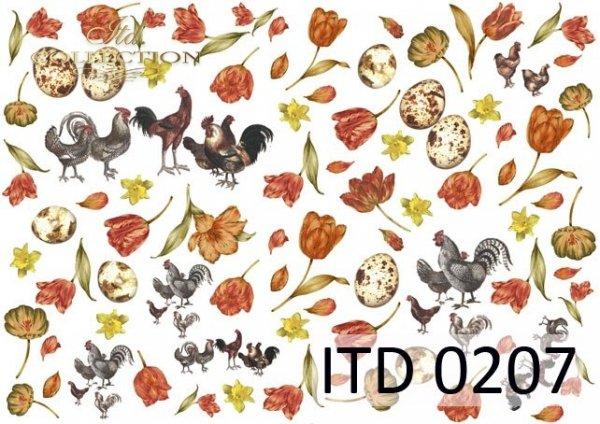 Papier decoupage ITD D0207