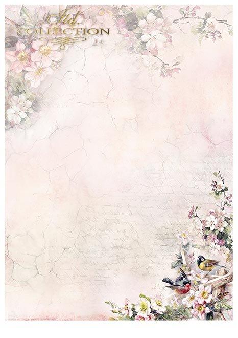 Zestawy-papierow-do-scrapbookingu-zestaw-Lato-w-rozach-SCRAP-045-02-ptaszki-motylki-kwiatki-kwiatuszki-mediowe-struktury-tla-struktury-farb-desek-spekaliny-crak