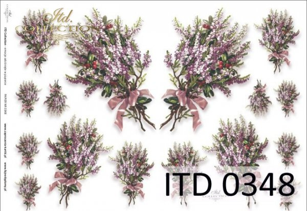Papier decoupage ITD D0348M