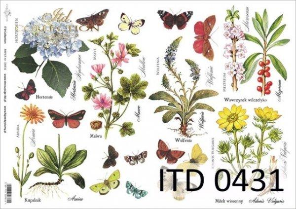 Papier decoupage ITD D0431M