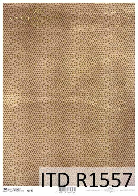 Papier decoupage brązowo-żółte, miodowe tło*Decoupage paper brown-yellow, honey background