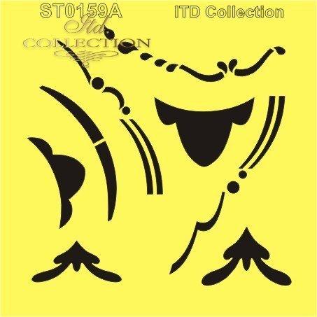 szablon * stencil * Schablone * шаблон * plantilla - ST0159A