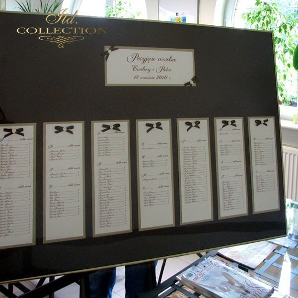 Plan stołów PS1461