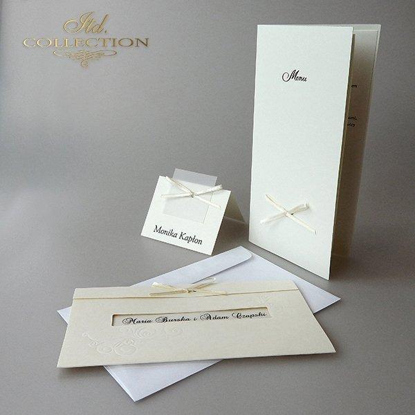 Zaproszenia ślubne / zaproszenie 2040