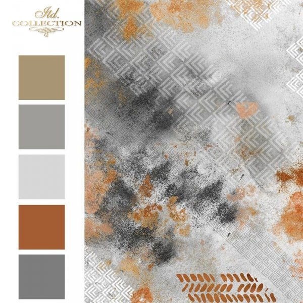 Do-decoupage-Papier-ryzowy-decoupage-R1586 small N-miedziane-tlo-kolaz-tapetowy-beton-i-rdza 2