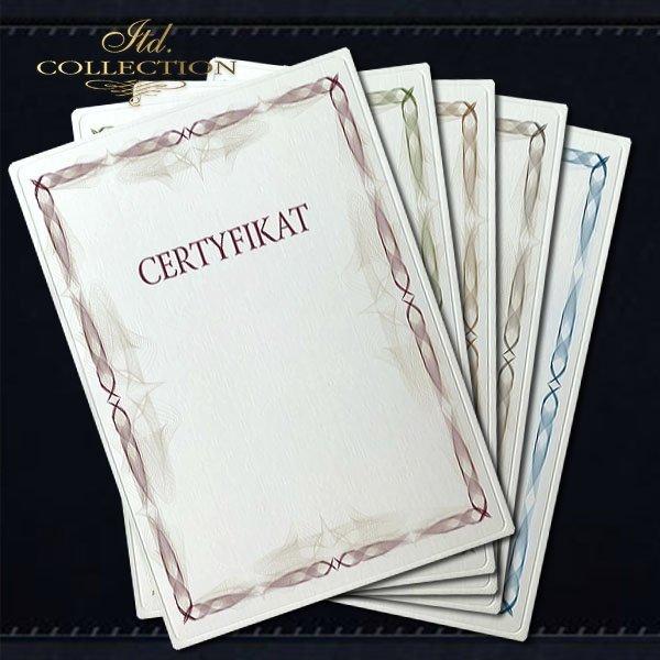 dyplom DS0310 certyfikat