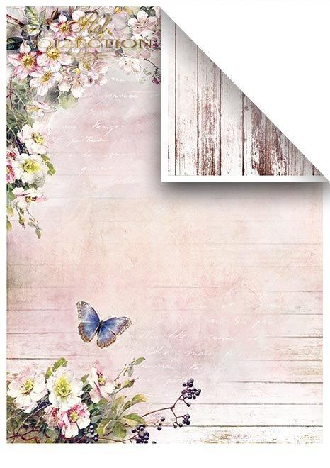 Zestawy-papierow-do-scrapbookingu-zestaw-Lato-w-rozach-SCRAP-045-12-ptaszki-motylki-kwiatki-kwiatuszki-mediowe-struktury-tla-struktury-farb-desek-spekaliny-crak