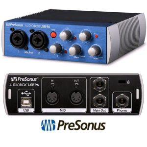 Presonus Audiobox USB 96 - interfejs audio