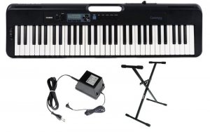 Casio CT-S300 - Keyboard z Dynamiczną Klawiaturą + STATYW