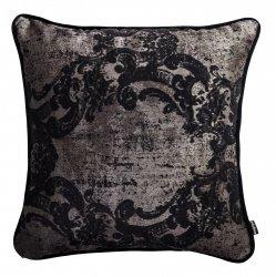 Czarna poduszka dekoracyjna Gold 40x40